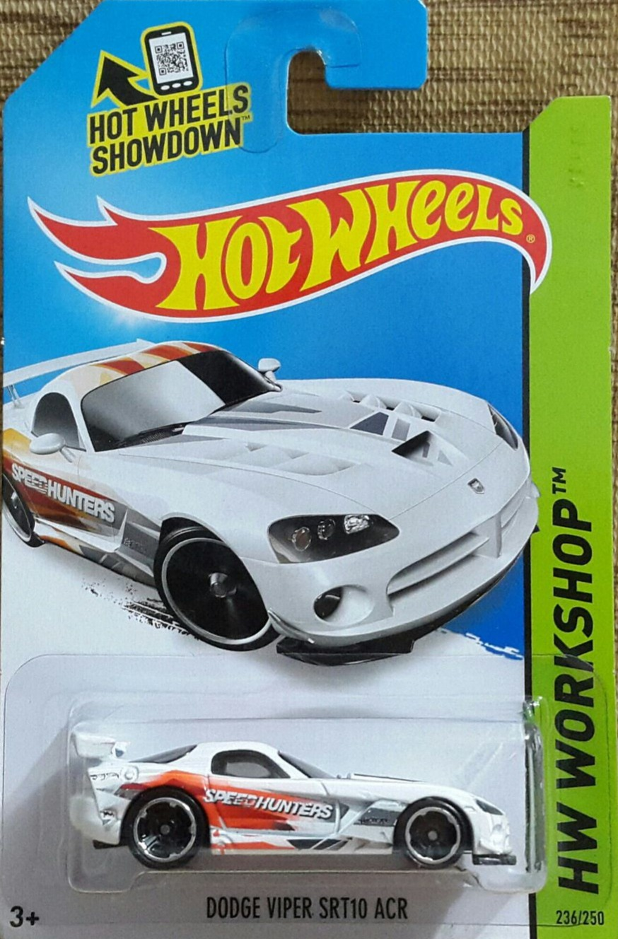 Hot Wheels Workshop Dodge Viper Srt10 Acr Universo Hot Wheels