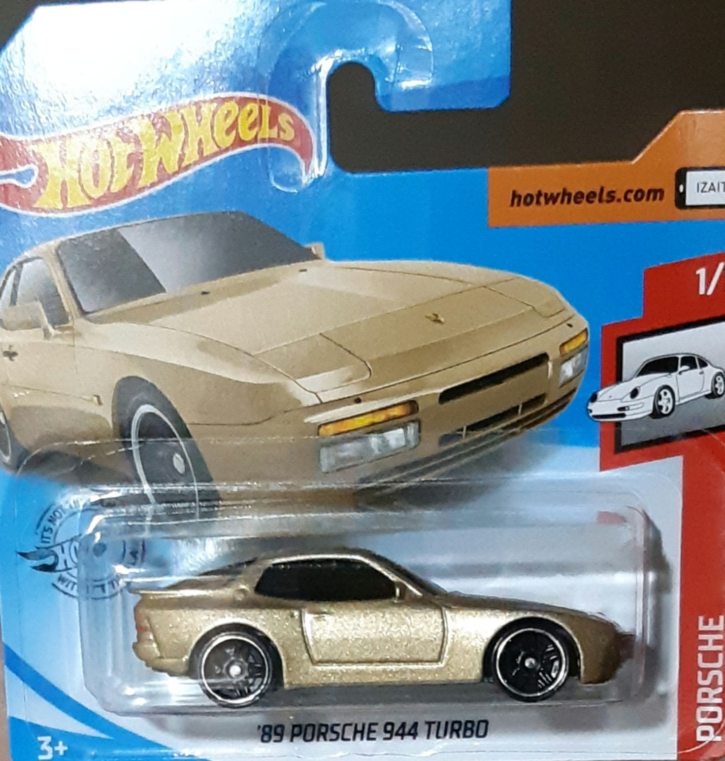 Hot Wheels Porsche 89 Porsche 944 Turbo Universo Hot Wheels