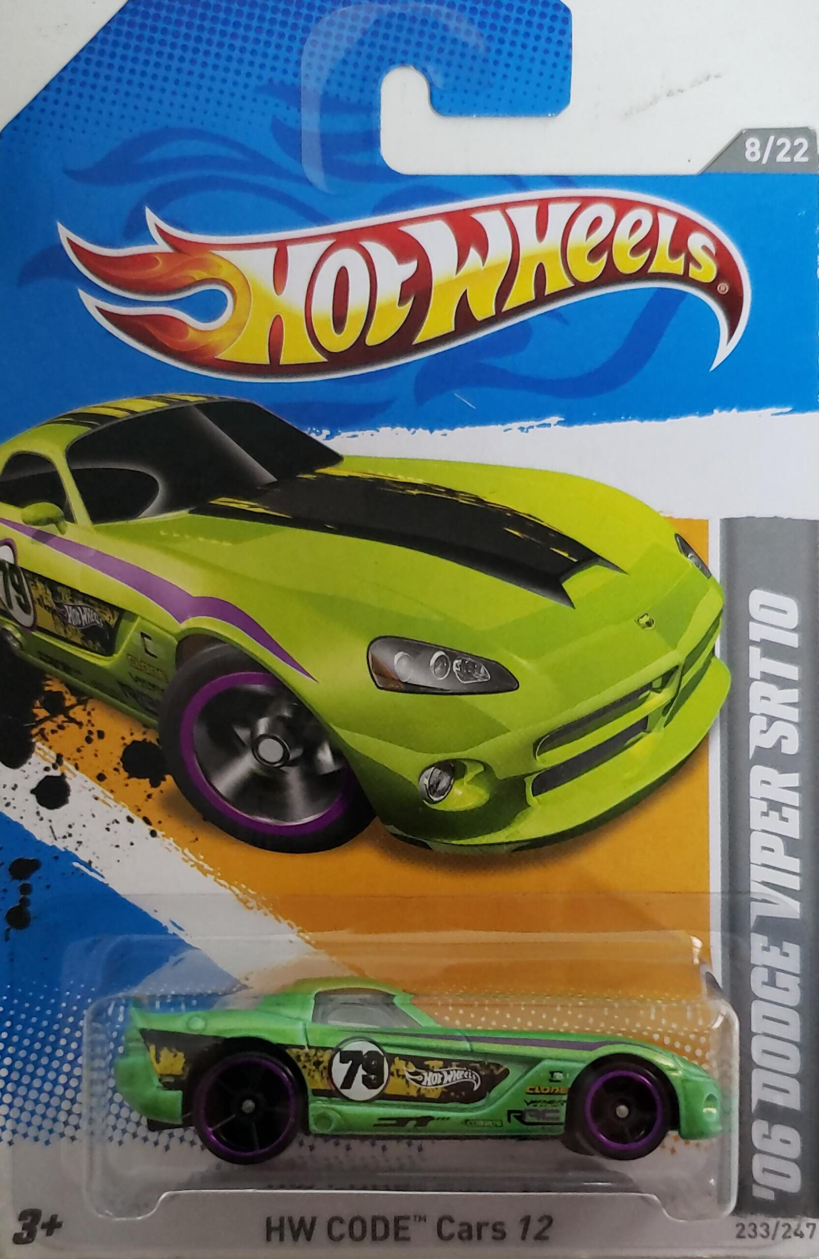 Hot Wheels Code Cars 06 Dodge Viper Srt10 Universo Hot Wheels